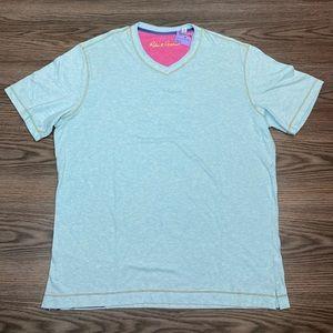 Robert Graham NWT Mint Green/Blue T-Shirt XL